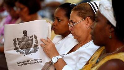 Opiniones encontradas en debates previos a la consulta popular para reformar la Constitución de Cuba