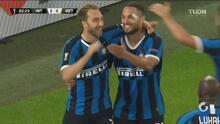 ¡Getafe falla el penalti del empate y el Inter aprovecha para finiquitar el 2-0!