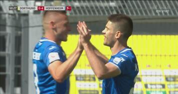 ¡Hoffenheim tiene nuevo héroe! Kramarić no perdona y marca el 4-0 con un penal