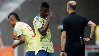 En fotos: un error fue la diferencia entre Colombia y Ucrania, que avanzó a Semifinales del Mundial Sub-20