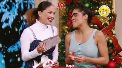 Mela la Melaza y su espíritu navideño llegaron con regalos para todos (pero de dudosa procedencia)