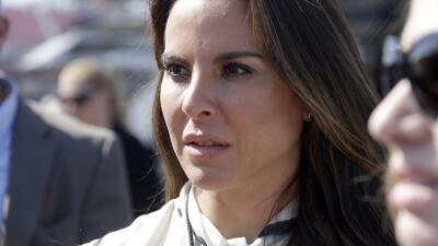 "Kate del Castillo, the actress who spoke with ""El Chapo"""