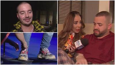 A J Balvin le tuvieron que amarrar los zapatos y Nacho durmió plácidamente: así se vivió el concierto Uforia Music