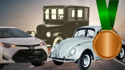 Estos son los 15 carros más vendidos de todos los tiempos