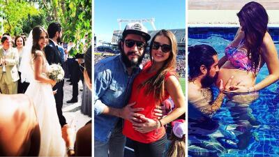 Michelle Renaud y Josué Alvarado se convirtieron en papás, recuerda su linda historia de amor