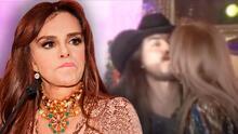 """¡Qué te pasa!"": Lucía Méndez cachetea a 'youtuber' por besarla en la boca"