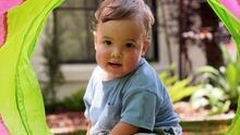 Las tiernas fotos de baby Ford, el hijo de Pamela Silva disfrutando de una tarde de juegos