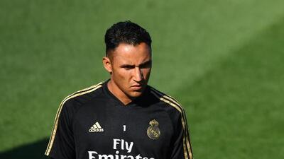 """Zidane: """"Cuento con Keylor Navas, es un gran profesional"""""""