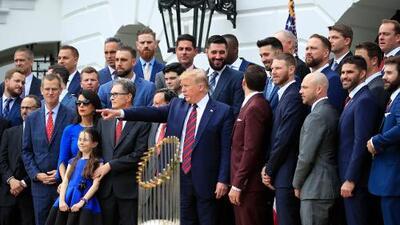 Diez jugadores latinos y afroestadounidenses desplantan el agasajo en la Casa Blanca a los Medias Rojas de Boston
