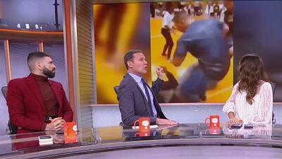 ¿Debería demandar? Analizamos el video de la patada a Schwarzenegger y la reacción de su equipo de seguridad