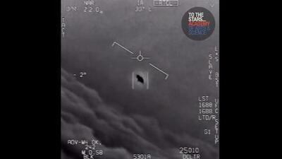 Video: El extraño objeto volador que captó un programa secreto del Pentágono para investigar ovnis