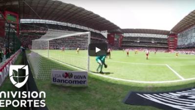 Una vista única del Toluca vs Tigres presentada por Verizon
