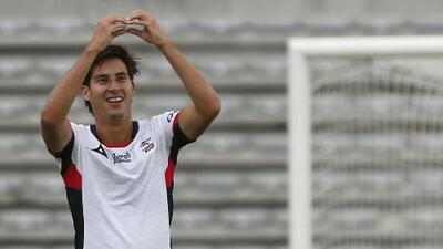 Mauro Lainez podría seguir los pasos de su hermano, Diego