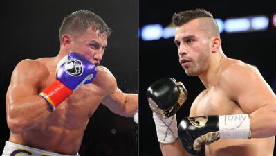 Gennady Golovkin contra David Lemieux  en octubre