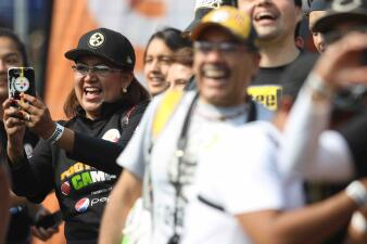 "Notable pasión Acerera en el ""Steelers Football Camp"" en México"