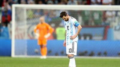 Lionel Messi y los mundiales, una historia para el olvido