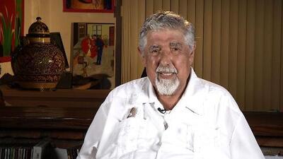 Rubén Aguirre, el profesor Jirafales,  recuerda la genialidad de Chespirito