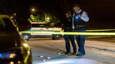 Al menos 9 muertos y 45 heridos es el saldo violento del fin de semana en Chicago
