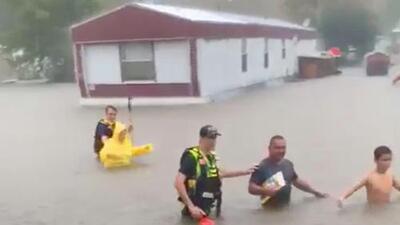 La depresión tropical Imelda causa estragos al noreste y este de Houston y se espera más lluvia