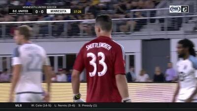 Luciano Acosta falla solo frente al portero y se pierde el primer gol para D.C. United