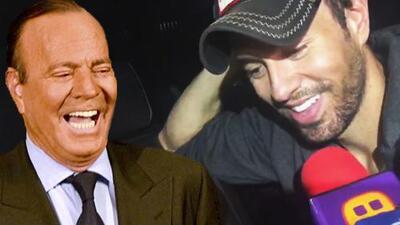 ¿Qué hace falta?: Enrique Iglesias explica lo que necesita para realizar una colaboración con Julio Iglesias