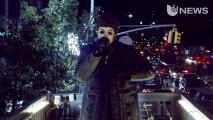 Bad Bunny paralizó las calles de New York en 'Uforia Live'
