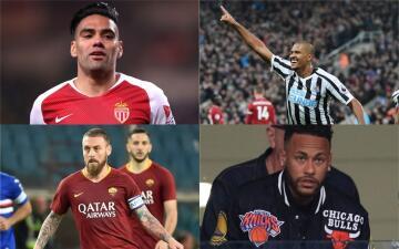 Rumores de Europa: Falcao y Neymar podrían cambiar de equipo muy pronto