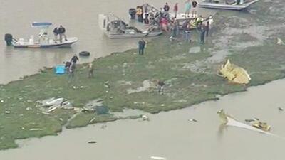 Un avión de carga que partió de Miami se estrelló al este de Houston