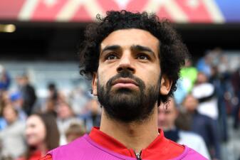 Mohammed Salah, el crack de Egipto que ve el debut de su país en Rusia 2018 desde afuera