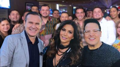 Con Paty Manterola y otros invitados especiales, el equipo de Despierta América disfruta de su paso por Las Vegas
