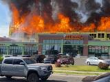 Negocios en Millcreek cerrados por incendio detrás del mall en el que operan