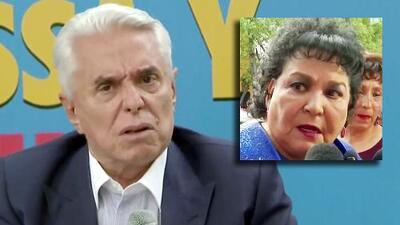 """No morirá"": en tono de burla, Enrique Guzmán promete ""vigilar a Carmen Salinas"" para que no le pase nada"