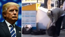 Trump dice que hubo fraude electoral en Los Ángeles, pero no hay pruebas que lo demuestren