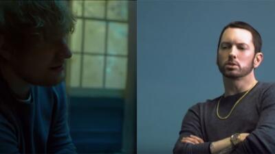 Eminem and Ed Sheeran drop 'River' music video