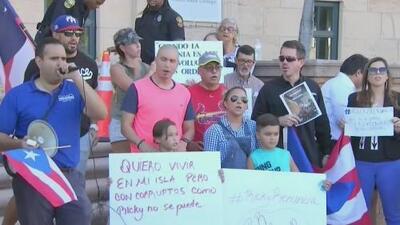 """""""No lo queremos y no lo necesitamos"""": diáspora puertorriqueña en Miami se prepara para una nueva protesta contra Rosselló"""