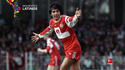 José Basualdo, el primer latino del VfB Stuttgart