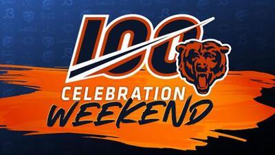 Bears 100 Celebration Weekend