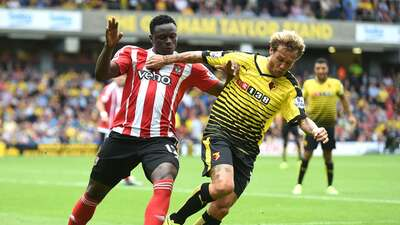 El Watford y el Southampton empatan para seguir sin conocer la victoria