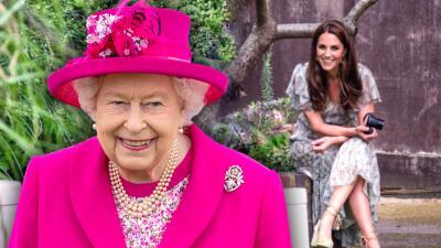 La reina Isabel le cedió un importante legado a Kate Middleton relacionado con una de sus grandes pasiones