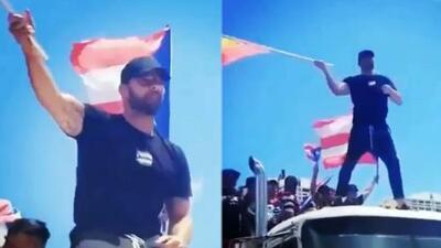 Las imágenes de Ricky Martin en pie de lucha para exigir la renuncia de Ricardo Rosselló en Puerto Rico