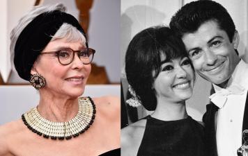 Las fotos del vestido de Rita Moreno en los Oscar: usó en 2018 el mismo que en 1962