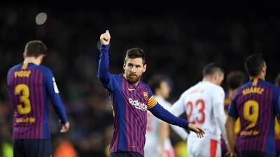 ¡Todo un monstruo! Messi llega a 400 goles con Barcelona