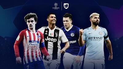 EN VIVO | Griezmann vs. Cristiano y la visita del City al Schalke 04