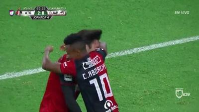 ¡GOOOL! Clifford Aboagye anota para Atlas