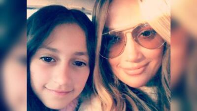Jennifer López todavía no puede creerlo: Emme, su hija con Marc Anthony, debutó como actriz