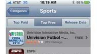 Univision tiene para ti su nueva aplicación para seguir de cerca el soccer en tu iPhone.