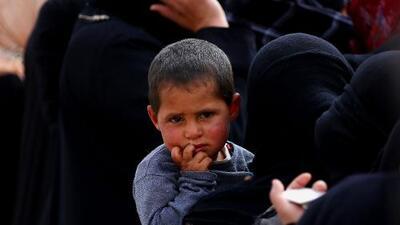 Los niños de Siria que defiende ahora Trump no podrían entrar en EEUU si se cumpliera su orden ejecutiva sobre refugiados