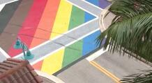 Acusan a hombre en Florida de vandalizar mural LGBTQ que costó más de $16,000