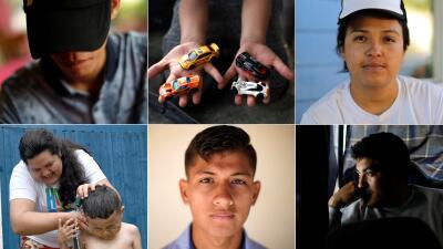 Deportados, separados o esperando asilo: así viven seis migrantes que participaron en las caravanas (fotos)