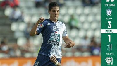 Pachuca se apodera del liderato de Grupo en la Copa MX